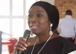 Mrs Uche Ekwunife at a Campaign rally